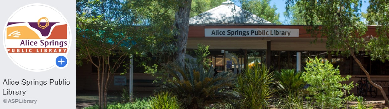 Alice Springs Public Library Home