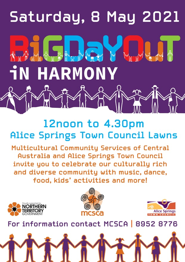 Big Day Out in Harmony poster A3