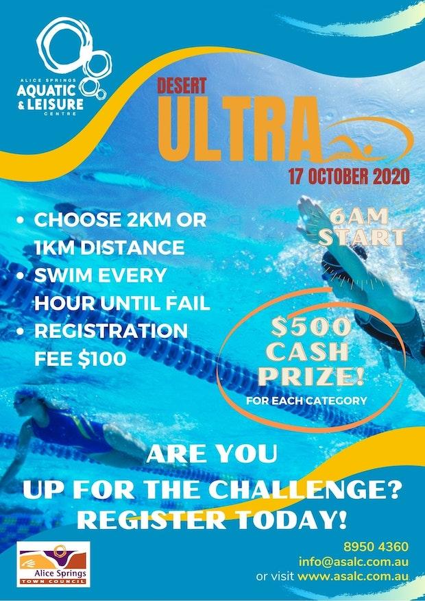 Desert Ultra Swim Flyer 2020