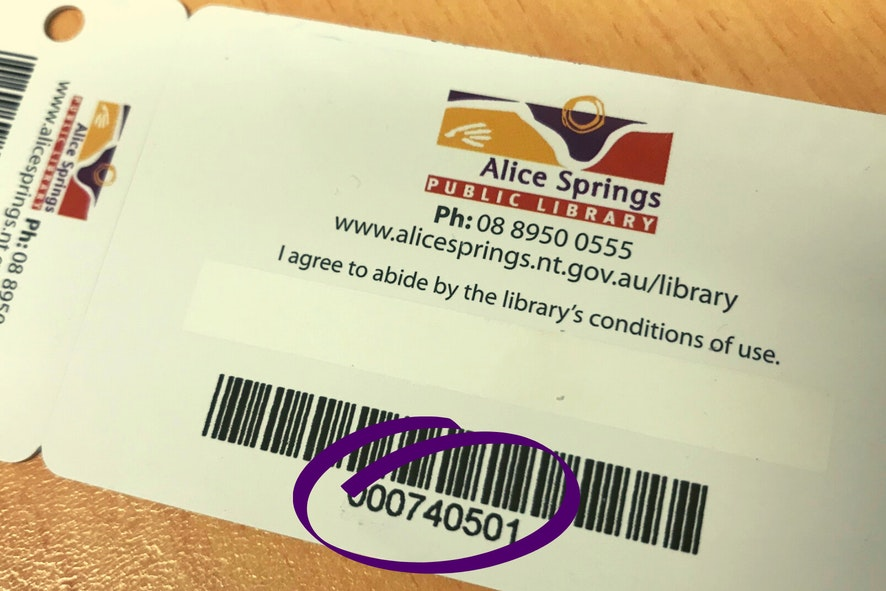 Library Card Number