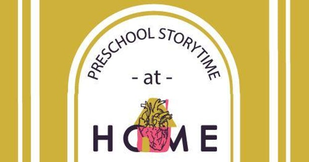 Preschool Storytime at Home Logo 2020