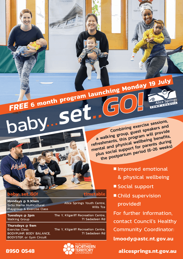 Baby Set GO poster A3 2