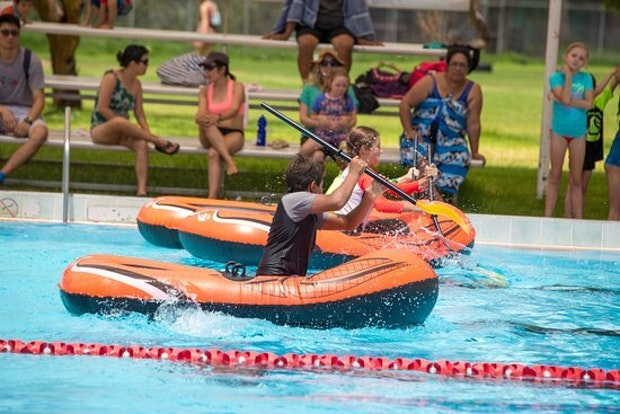 Boat races at the asalc