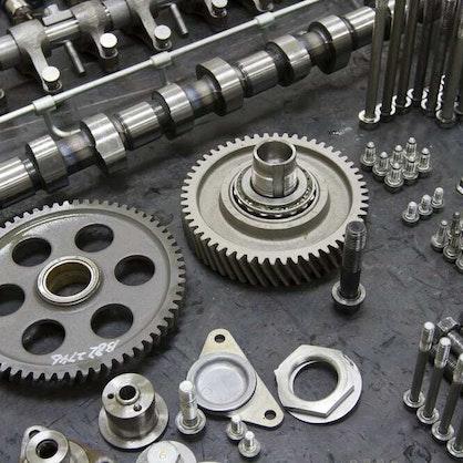 Different engine parts